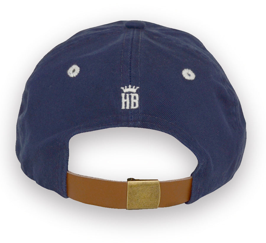 Alameda Anchor A Baseball Cap - Back Navy