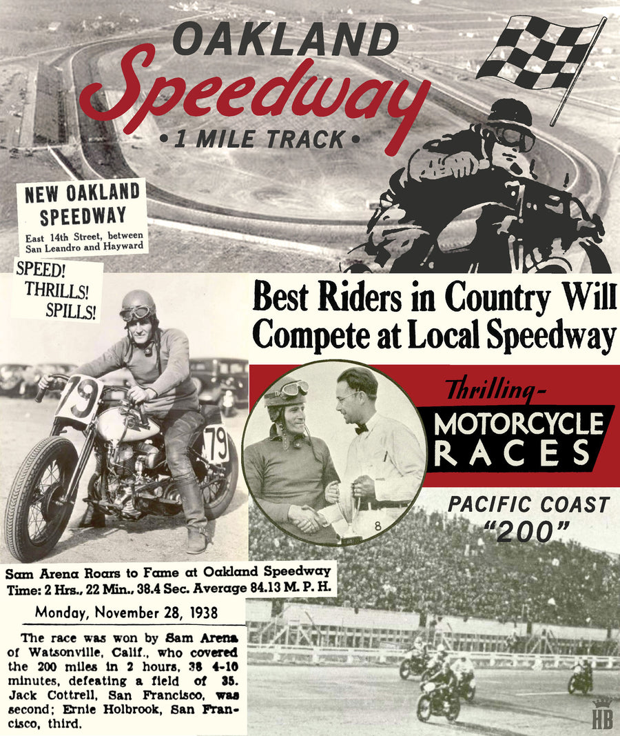 Oakland Speedway history
