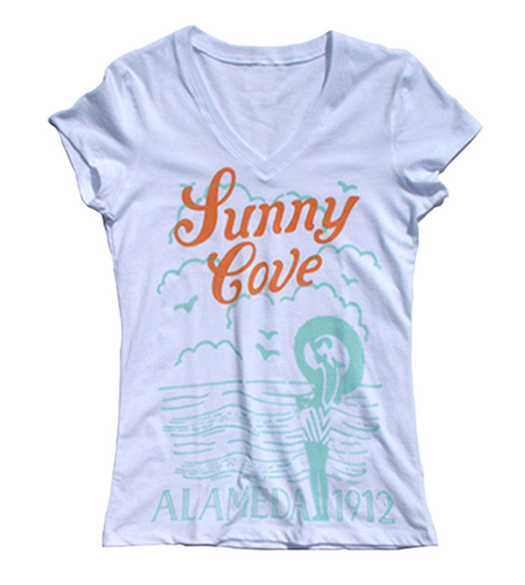 Women's Sunny Cove V-Neck T-Shirt