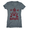 Anchor A Women's Scoop Neck T-Shirt