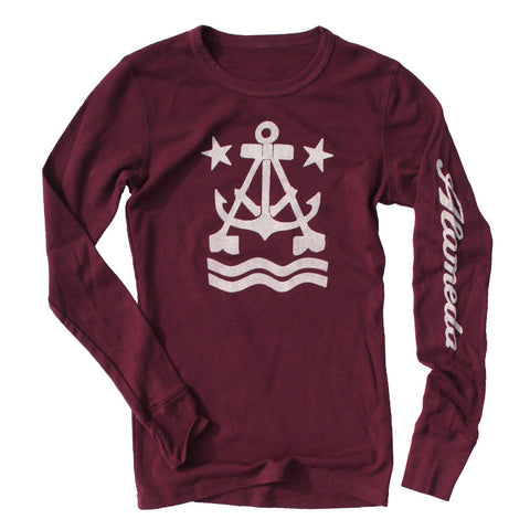 Anchor A Women's Long Sleeve Thermal Shirt