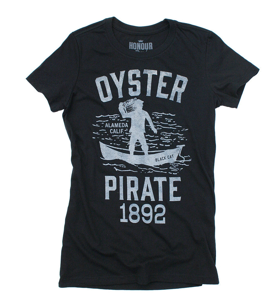 Women's Oyster Pirate T-Shirt