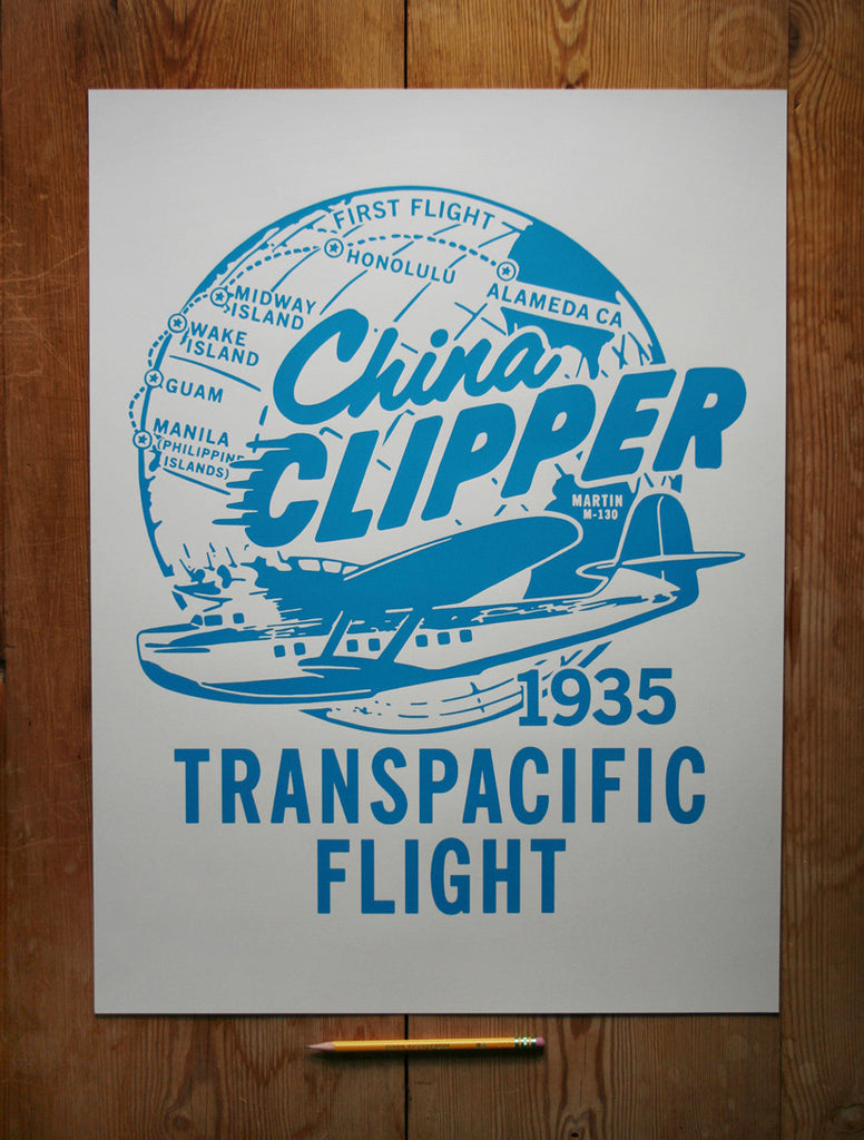 China Clipper 18 x 24 Poster