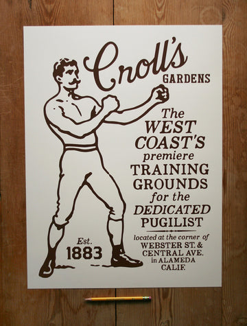 Croll's Boxing Gardens 18 x 24 Poster