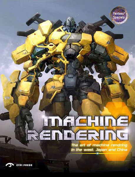 Machine Rendering - The Art of Machine Rendering in the West, Japan and China