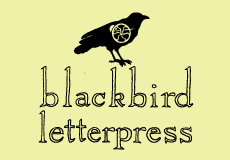 Blackbird Letterpress