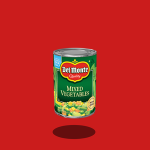 "Del Monte ""Mixed Vegetables"""