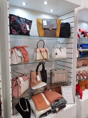 Handbags, purses, clutches, New Ross - Elegant Living - Dermot Kehoes