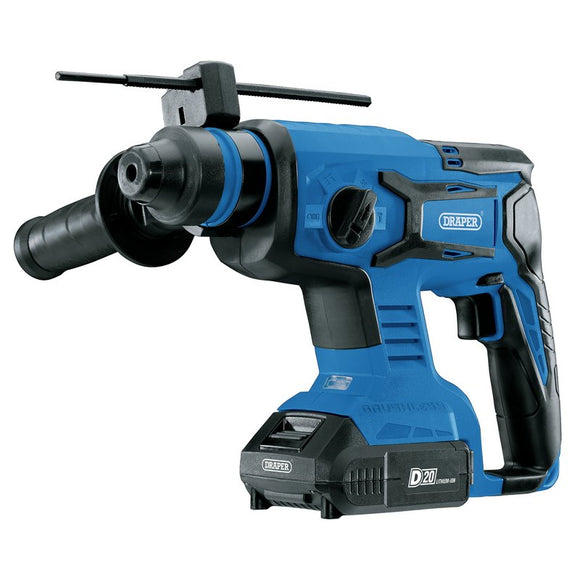 Draper D20 20V Brushless SDS+ Rotary Hammer Drill Kit - 5602761