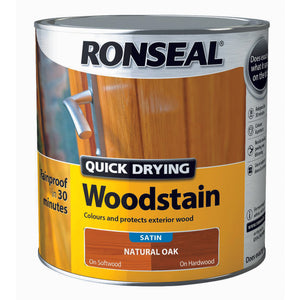 Quick Drying Woodstain 2.5L Natural Oak
