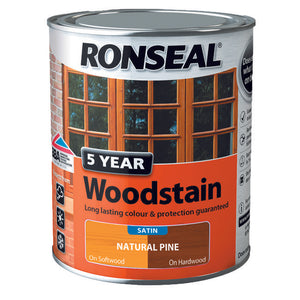 5 Year Woodstain 750ml Natural Pine