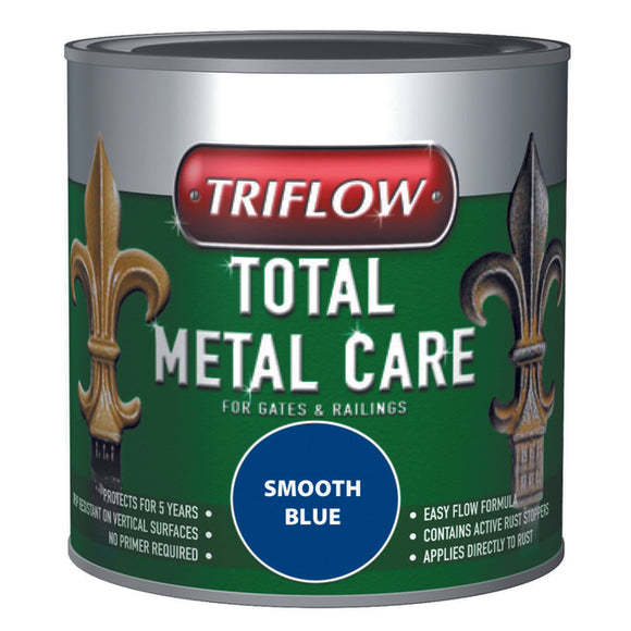 Triflow Metal Care For Gates & Railings 250ml Blue Smooth