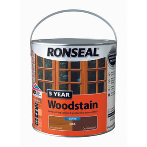 5 Year Woodstain 2.5L Oak