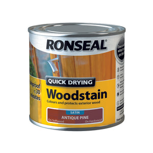 Quick Drying Woodstain 250ml Antique Pine