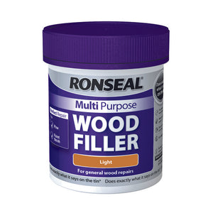 Ronseal Multi Purpose Wood Filler Tub 250g Light