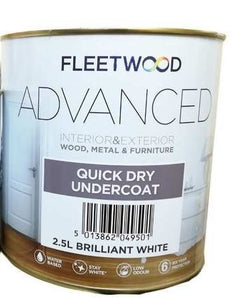 Fleetwood Advanced Undercoat 2.5Ltr