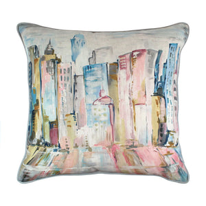 ScatterBox - Latitude 45x45cm Cushion in Pink/Blue