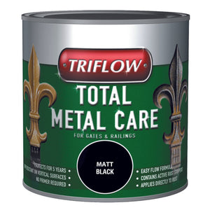 Triflow Metal Care For Gates & Railings 500ml Black Satin