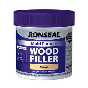 Ronseal Multi Purpose Wood Filler Tub 465g Natural