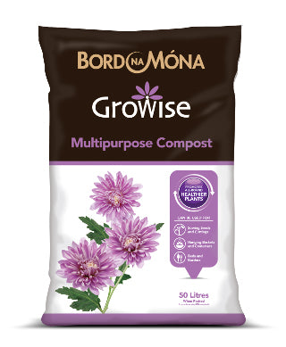 Bord Na Mona - Multi Purpose Compost 50 L - Special Offer 3 for €10