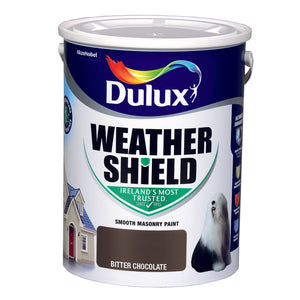 Dulux Weathershield Bitter Chocolate  5L