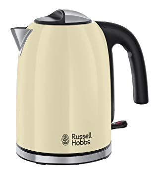 Russell Hobbs Colours Plus+ Classic Cream Kettle