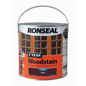 5 Year Woodstain 2.5L Teak