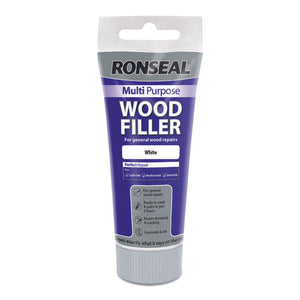 Ronseal Multi Purpose Wood Filler Tube 100g White