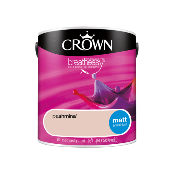 Crown Matt Pashmina 2.5LT