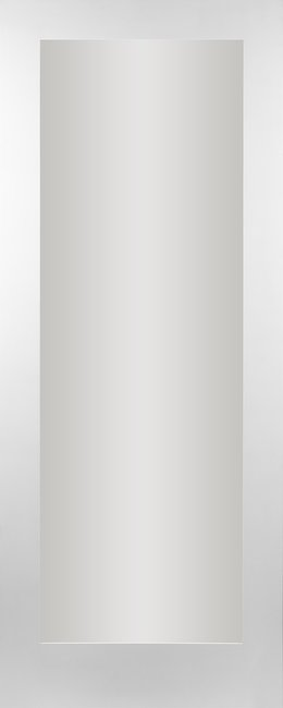Seadec White Primed Cheshire Clear 1 Panel Door