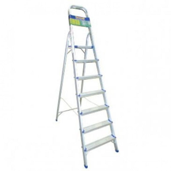 Homevalue 7 Tread Aluminium  Step Ladder - 730004