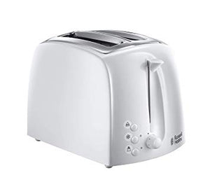 Russell Hobbs Textures 2-Slice Toaster White