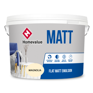Homevalue Matt Paint 10L Magnolia - 750125