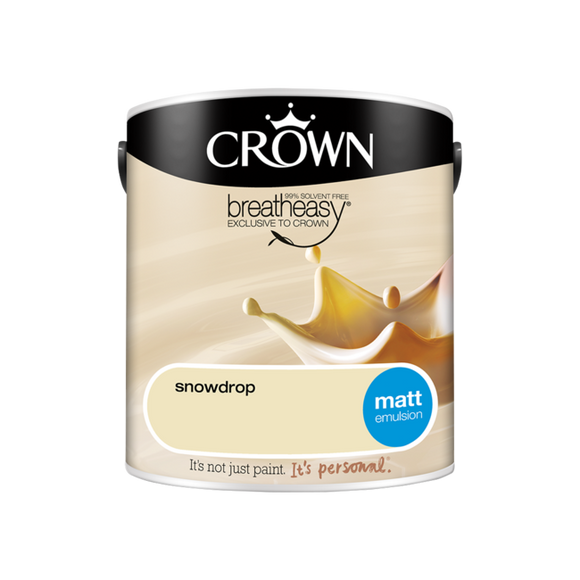 Crown Matt Snowdrop 2.5L
