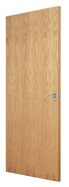 Indoors Flush Oak Veneer Match Fd30 F/S Door 78X30 44Mm