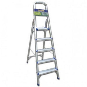 Homevalue 5 Tread Aluminium  Step Ladder - 730002