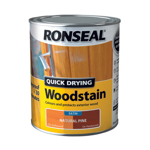 Quick Drying Woodstain 750ml Natural Pine