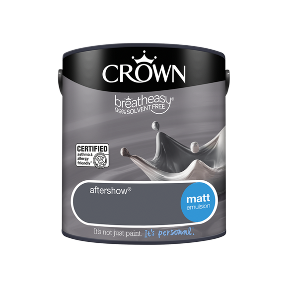 Crown Matt Emulsion Aftershow 2.5L