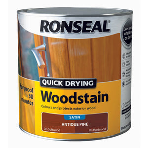 Quick Drying Woodstain 2.5L Antique Pine