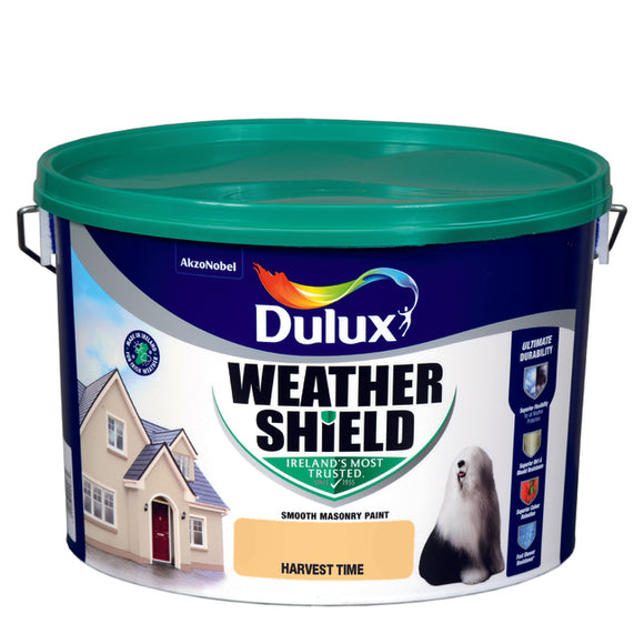 Dulux Weathershield Harvest time 10L