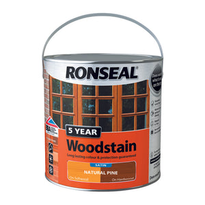5 Year Woodstain 2.5L Natural Pine