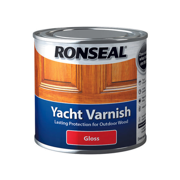 Ronseal Yacht Varnish 250ml Gloss