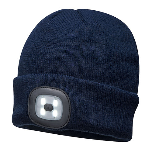 Portwest Beanie With LED Head Light