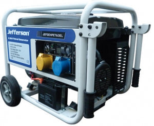 Jefferson Petrol Generator 7.9Kva (Electric Start) - JEFGENPET63EL