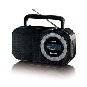 Lenco PR-2700 - Portable radio with LCD-screen and USB - 640539