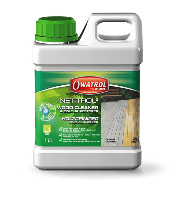 Owatrol Net-Trol Wood Cleaner and Colour Restorer - 76908