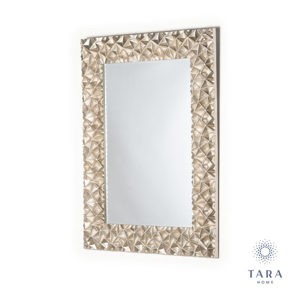 Tara Home - Polygon Geo-Mirror (89 x 119cm) - 643678