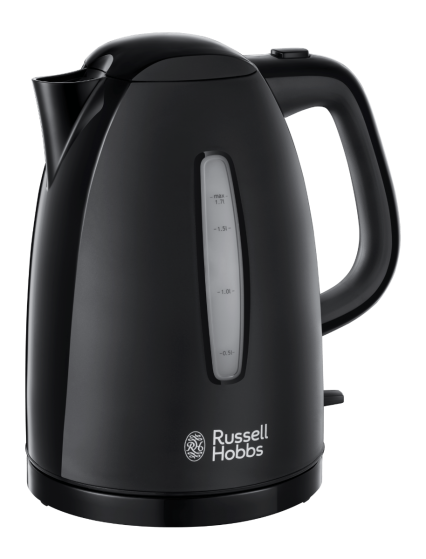 Russell Hobbs Textures Black Kettle - 617113