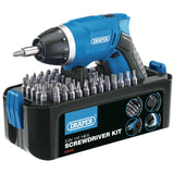 Draper Storm Force® Cordless Li-Ion Screwdriver Kit - 57437