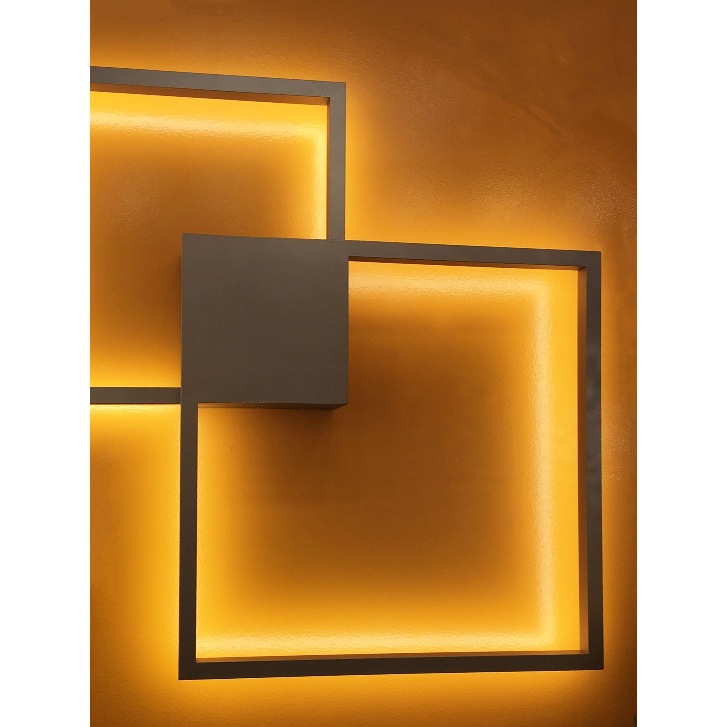 Lámpara de Pared LED de Interior 2 Luces - Monnry